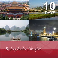 Beijing, Guilin and Shanghai, 10 days