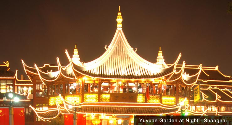night-yuyuan-garden